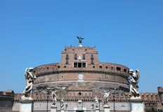 Ponte Sant'Angelo royalty-vrije stock afbeeldingen