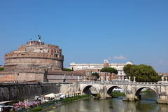 Ponte Sant'Angelo Stock Foto's