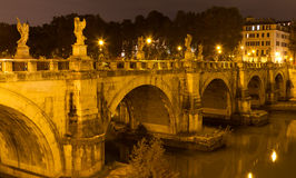 Ponte Sant'Angelo Royalty Free Stock Photo