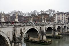 Ponte Sant Angelo Images stock