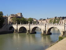 Ponte Sant ` Angelo Royalty-vrije Stock Fotografie