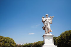 Ponte Sant'Angelo Bridge Statue Royalty Free Stock Photography