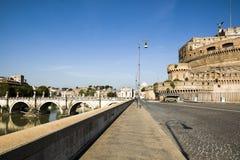 Ponte Sant ` Angelo most Obraz Royalty Free
