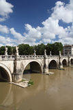 Ponte Sant Angelo, Rome Stock Images