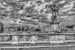 Ponte Sant& x27 ; Angelo, Rome, Italie Photo stock