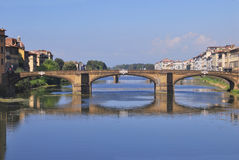 Ponte Santa Trinita Royalty Free Stock Photography