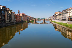 Ponte Santa Trinita bridge in Florence Royalty Free Stock Photos