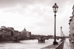 Ponte Santa Trinita Bridge, Florence; Italy Royalty Free Stock Photo