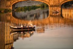 Ponte Santa Trinita Bridge Florence Royalty Free Stock Photography