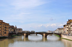 Ponte Santa-Trinita in Florence Royalty Free Stock Images