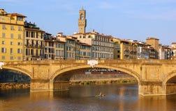 Ponte Santa Trinita - Florencia Foto de archivo
