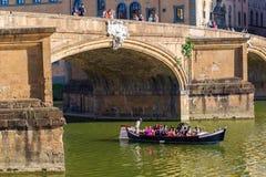 Ponte Santa Trinita w Florencja Obrazy Stock