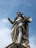Ponte SantAngelo/Girolamo Lucenti/天使与钉子 免版税图库摄影