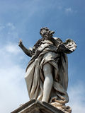 Ponte SantAngelo/Girolamo Lucenti/Engel met de Spijkers Royalty-vrije Stock Fotografie