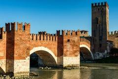 Ponte Scaligero bridge Royalty Free Stock Images
