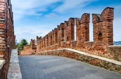 Ponte Scaligero, Verona royalty free stock photos