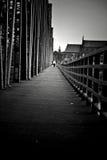 Ponte scuro Fotografia Stock