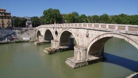 Ponte Sisto en Roma, Italia metrajes
