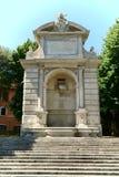 Ponte Sisto Fountain Rome, Italy Royalty Free Stock Photography