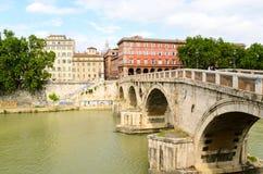 Ponte Sisto Royalty Free Stock Photos