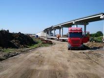 Ponte sob a construção fotografia de stock royalty free