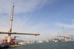 Ponte sob a construção Foto de Stock Royalty Free