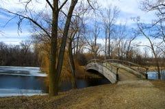 Ponte sobre a água foto de stock royalty free