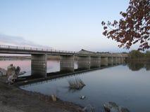 Ponte sobre a água Foto de Stock