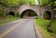 Ponte sobre a estrada Imagem de Stock Royalty Free