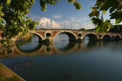 Ponte sobre Garona foto de stock