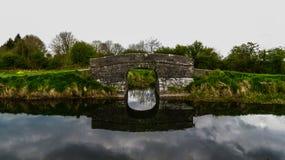 Ponte sobre o canal Fotografia de Stock