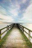 Ponte sobre o mar Imagens de Stock Royalty Free