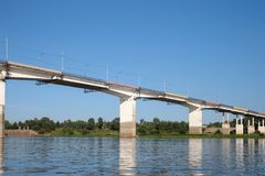Ponte sobre o rio Fotos de Stock Royalty Free