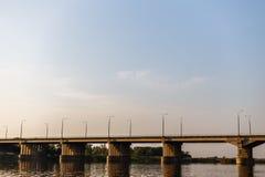 Ponte sobre o rio Foto de Stock Royalty Free