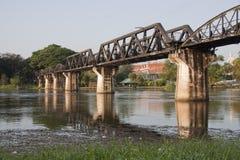 Ponte sobre o rio Kwai Fotos de Stock Royalty Free
