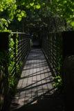 Ponte sopra il Derwent alla giunzione dell'alto picco Fotografie Stock Libere da Diritti