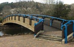 Ponte sopra il fiume Fotografie Stock Libere da Diritti