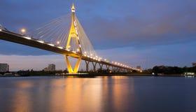 Ponte sopra il fiume di re Fotografia Stock Libera da Diritti