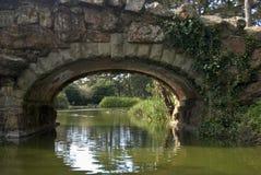 Ponte sopra il lago stow immagini stock libere da diritti