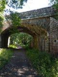 Ponte sopra la prova del sud di Tyne immagine stock libera da diritti