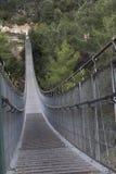 Ponte sospeso Fotografie Stock Libere da Diritti