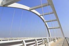 ponte sospeso Immagini Stock