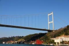 Ponte sospeso del Bosporus Fotografie Stock