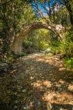 Ponte Sottano bridge near Corscia in Corsica Stock Photography