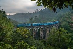 Ponte Sri Lanka dell'arco di Ella Nine fotografia stock libera da diritti