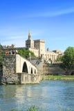 Ponte St-Benezet em Avignon, França Fotos de Stock