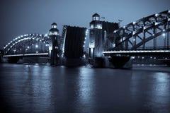 Ponte. St-Petersburgo fotografia de stock royalty free