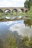 Ponte storico dell'arco a Richmond, Tasmania, Australia immagini stock libere da diritti