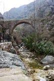 Ponte storico in Manisa, Turchia Fotografia Stock