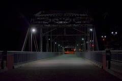 Ponte storico in negativo per la stampa di cartamoneta di Trujillo, Porto Rico Fotografie Stock Libere da Diritti